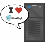 MarkMagic runs natively on the AS/400.