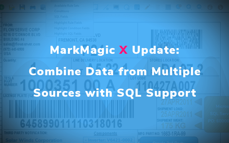 MarkMagic X Update: Combine Data from Multiple Sources with SQL Support